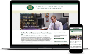 Barron Financial Group's financial website