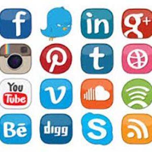Social media management web services