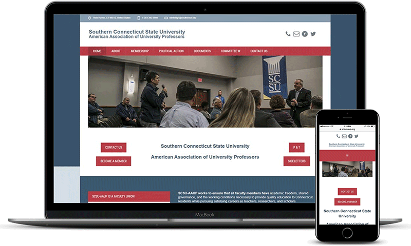 Southern Connecticut State University - American Association of Union Professors website