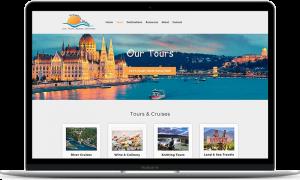 Travelin' Along travel agent website