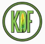 KDF Tree and Landscape logo