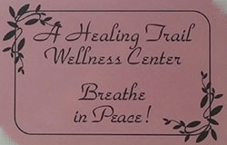 A Healing Trail Wellness Center business card