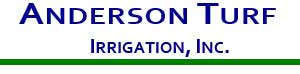 Anderson Turf Irrigation logo in blue and green
