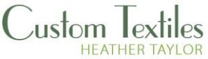 Custom Textiles logo in green