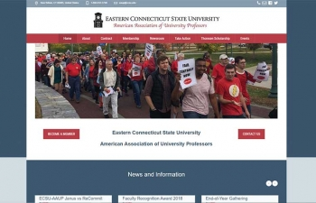 Website of the ECSU-AAUP